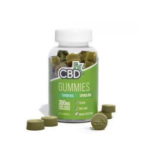 CBDfx Antioxidant Turmeric Gummies