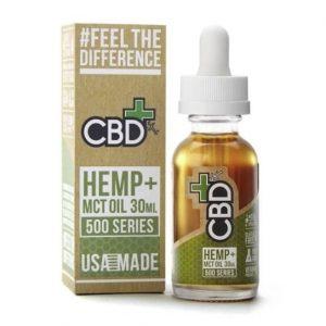 CBDfx Hemp Plus Oil