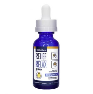 CBDistillery Relief+Relax CBD Oil