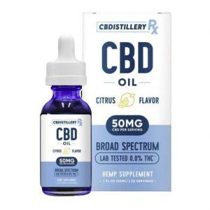 CBDistilleryRX Citrus CBD Oil