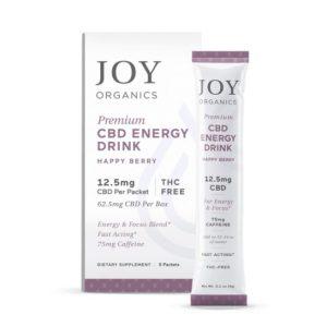 Joy Organics CBD Energy Drink