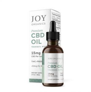 Joy Organics Tincture Oil
