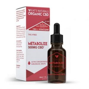 Kat's Naturals Metabolize CBD Oil