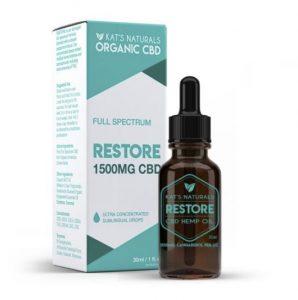 Kat's Naturals Restore CBD Oil