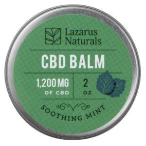 Lazarus Naturals CBD Balm Best CBD Oil For Back Pain