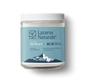Lazarus Naturals CBD Isolate