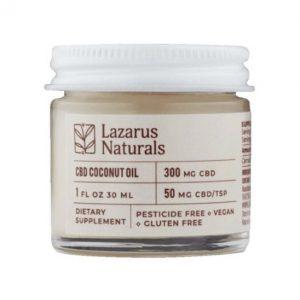 Lazarus Naturals Coconut Oil Best CBD Oil