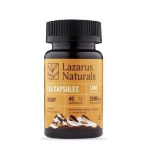 Lazarus Naturals Energy CBD Capsule Best CBD Oil For Energy