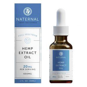 Naternal Hemp Extract Oil
