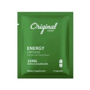 Original Hemp Energy Capsule