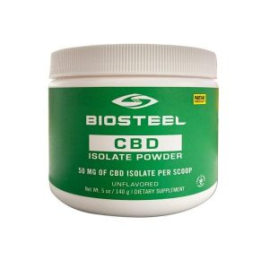 BioSteel Unflavored CBD Isolate Powder