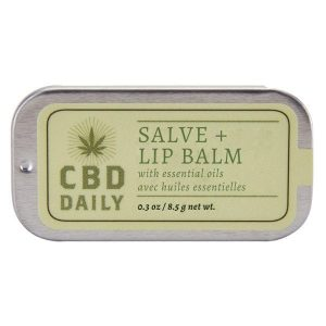 CBD Daily Salve + Lip Balm