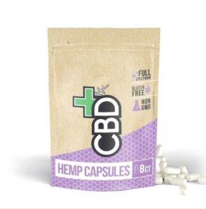 CBDfx Capsules Pouch