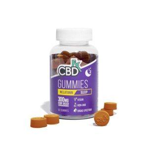 CBDfx Hemp & Melatonin 60 Count CBD Gummies