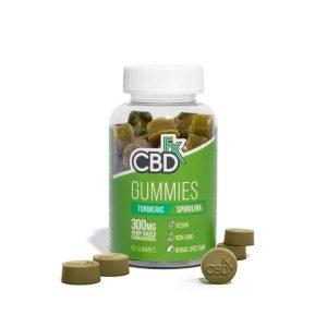CBDfx Turmeric & Spirulina 60ct Gummies