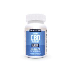 CBDistillery 30 mg 25 Count CBD Gummies