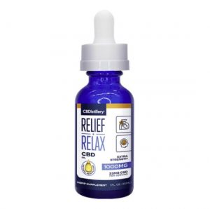 CBDistillery Relief   Relax CBD Oil