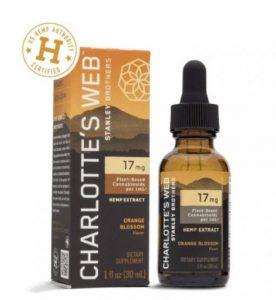 Charlotte's Web Orange Blossom CBD Oil