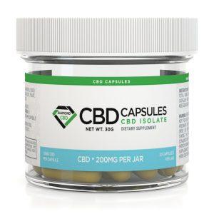 Diamond CBD Capsules 200mg