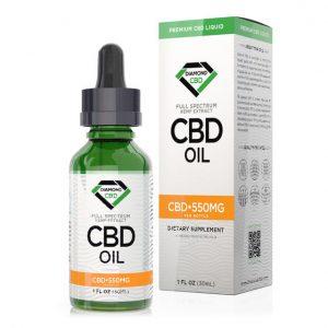 Diamond CBD Full-Spectrum Unflavored Oil