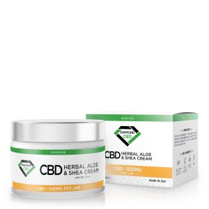 Diamond CBD Herbal Aloe And Shea Cream