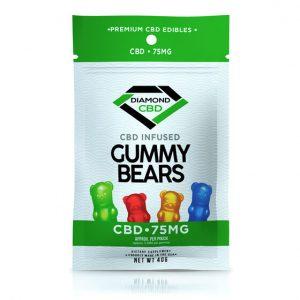 Diamond CBD Infused Gummy Bears