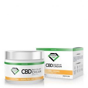 Diamond CBD Pain Relief Cream