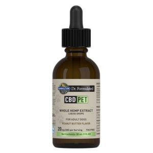 Garden Of Life Dr. Formulated CBD Pet Liquid Drops