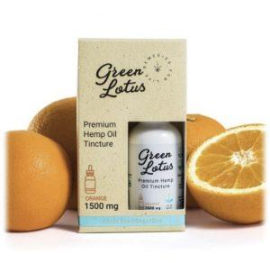 Green Lotus Orange Flavor CBD Tincture