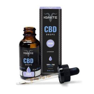 Ignite Lavender Flavored CBD Tincture Oil