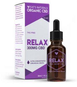 Kat's Naturals Relax CBD Hemp Oil