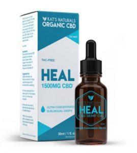 Kat's Natural Heal CBD Oil