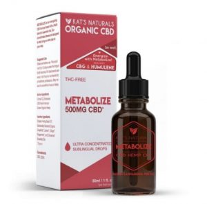 Kat's Naturals Metabolizing CBD Oil