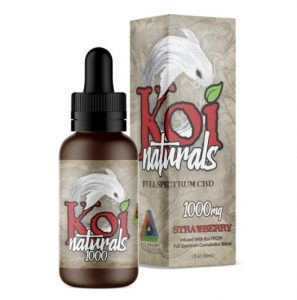 Koi Naturals Strawberry CBD Oil