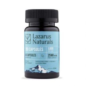 Lazarus Naturals CBD Capsules Best CBD Capsules