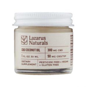 LazarusNaturals CBD Coconut Oil Best CBD Oil For Psoriasis