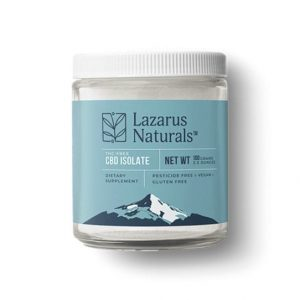 Lazarus Naturals CBD Isolate Best CBD Isolate