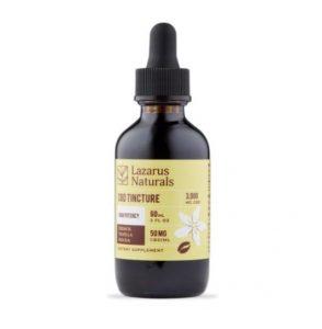 Lazarus Naturals French Vanilla Mocha CBD Oil