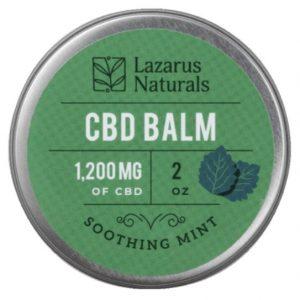Lazarus Naturals Full Spectrum Mint CBD Balm