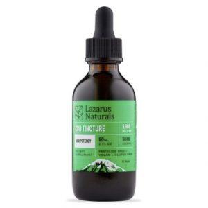 Lazarus Naturals High Potency CBD Tincture Oil