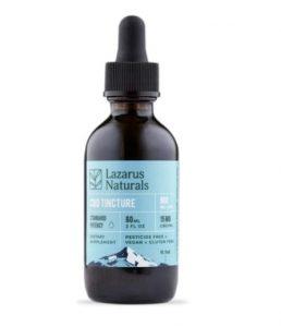 Lazarus Naturals Standard Potency CBD Tincture