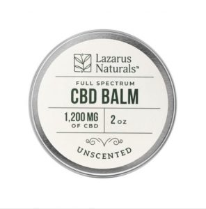 Lazarus Naturals Unscented CBD Balm