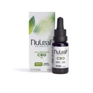 NuLeaf Naturals CBD Oil 15ml