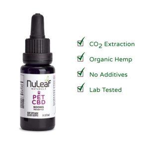 NuLeaf Naturals CBD Oil For Pet