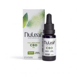 NuLeaf Naturals Full Spectrum CBD Oil 15ml Best CBD Oil For Diabetes