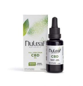 NuLeaf Naturals Full Spectrum CBD Oil 30ml