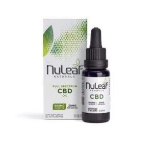Nuleaf Naturals Full Spectrum CBD Oil 15ml