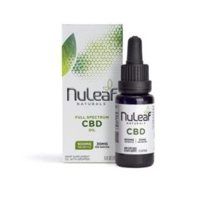 Nuleaf Naturals Full Spectrum CBD Oil 15ml