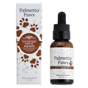 Palmetto Paws Hemp Oil