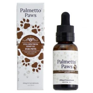 Palmetto Paws High-Grade Hemp Oil